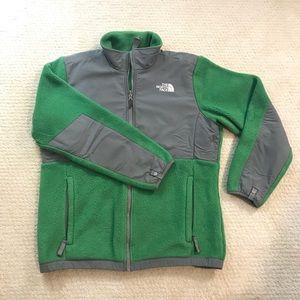 [North Face] Green Denali Girls Jacket - EUC!